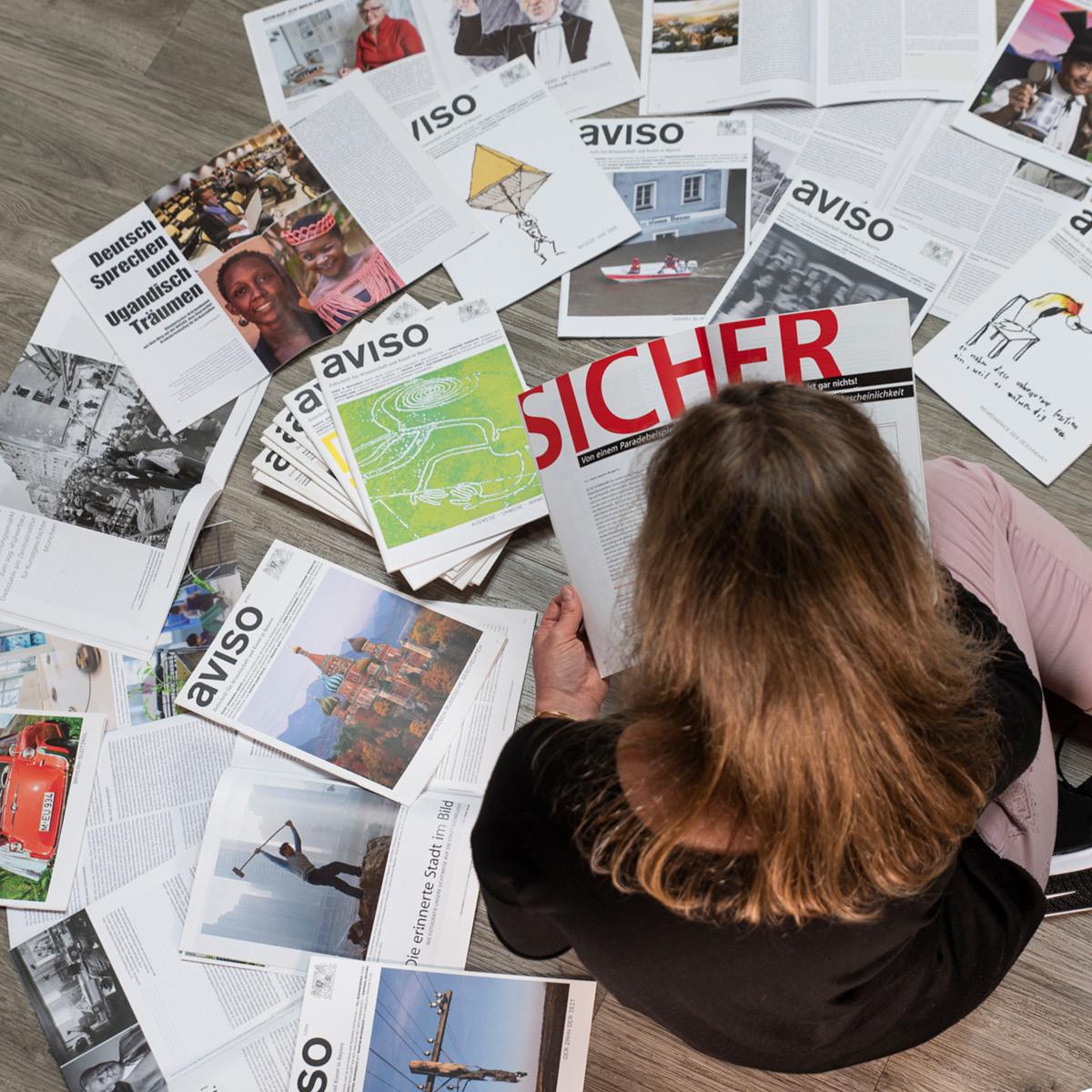 Design von Magazinen durch die Grafikagentur Hämmerle