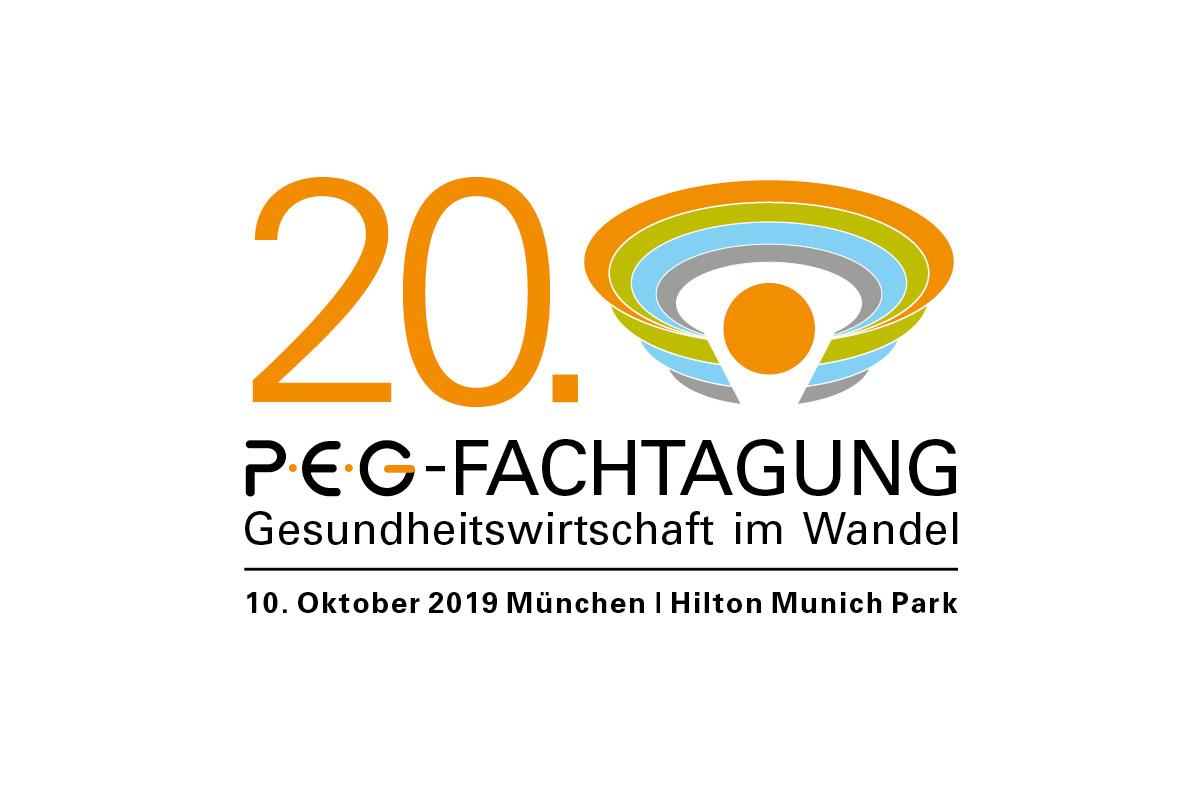 Design eines Logos für die PEG-Fachtagung in München.