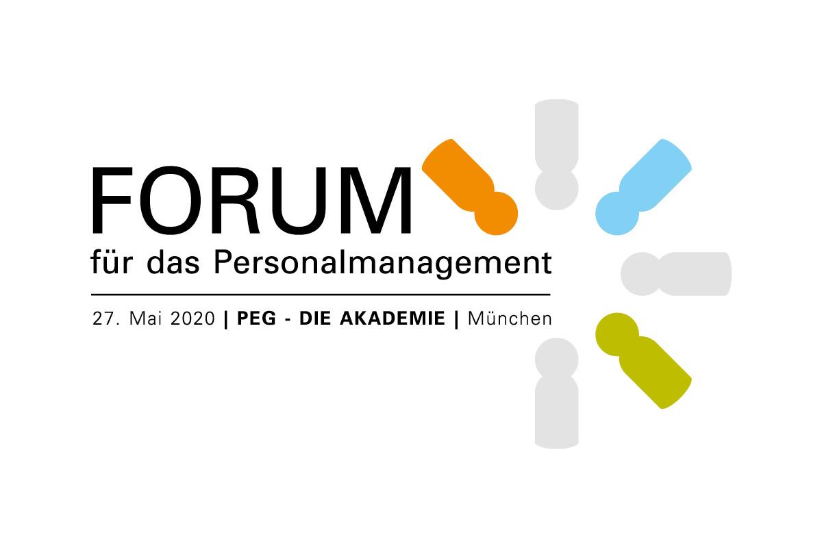 Logogestaltung für das Personalmanagement der PEG – Die Akademie in München.