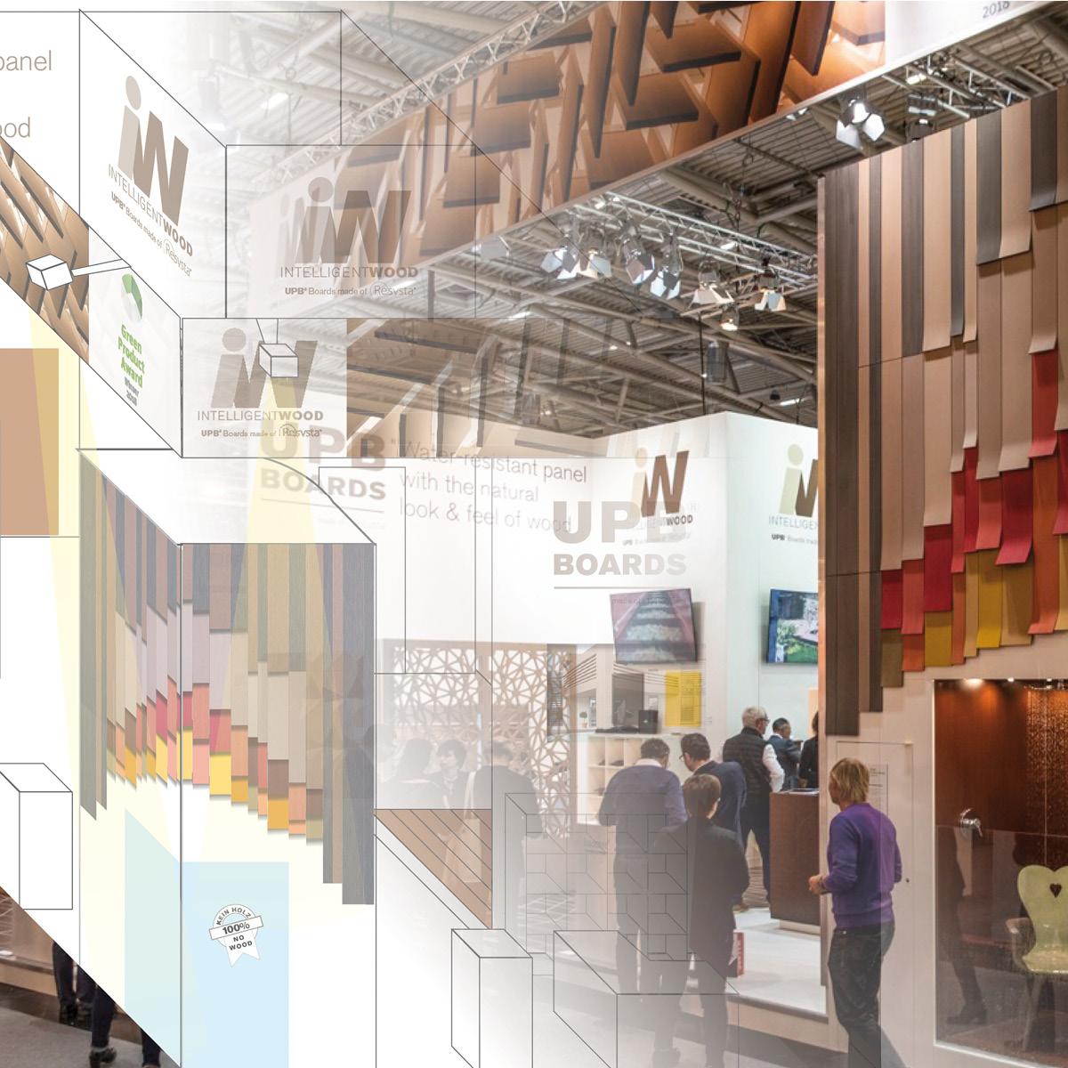 Design von Messeständen durch das Atelier für Gestaltung in Erding
