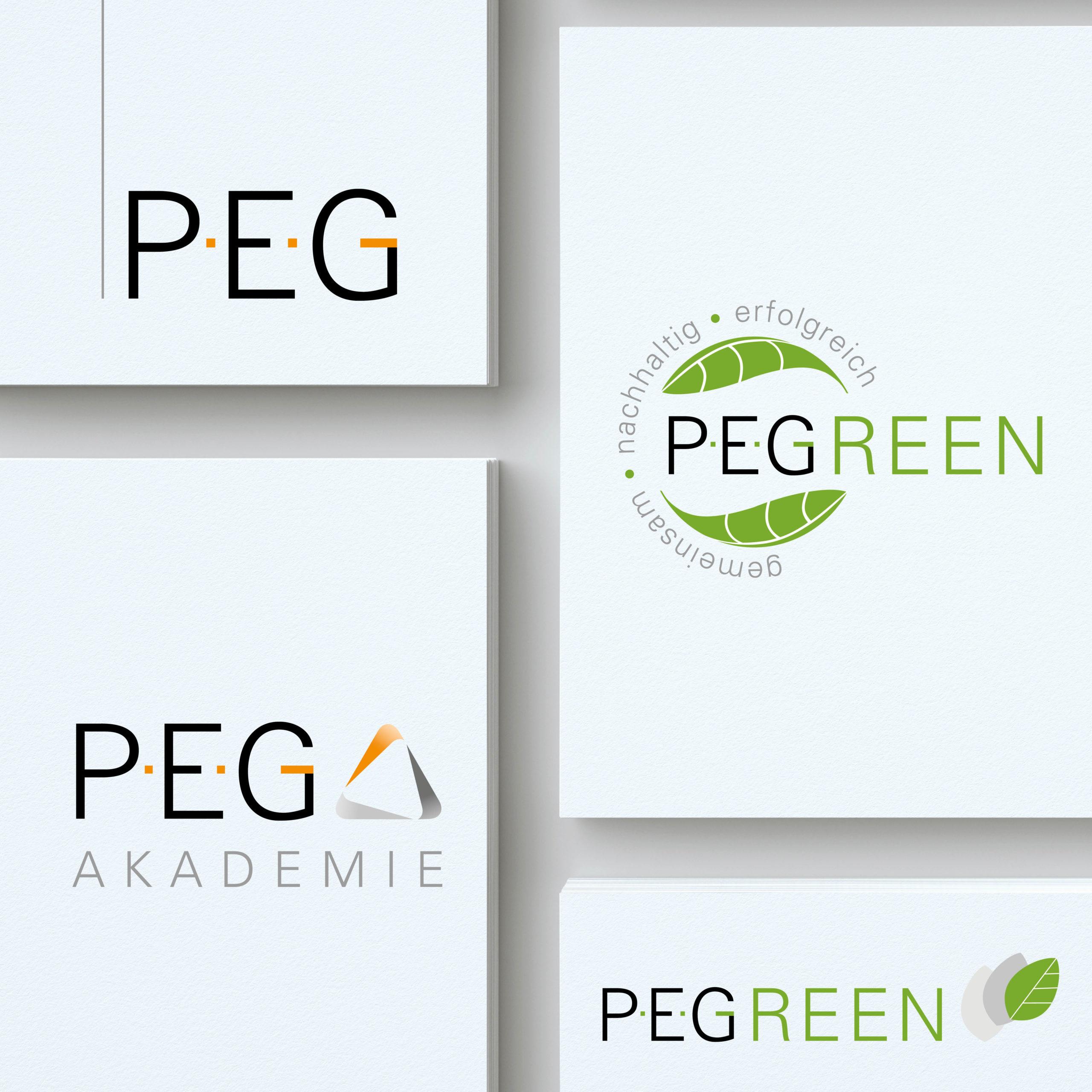 Design von Logos für PEG