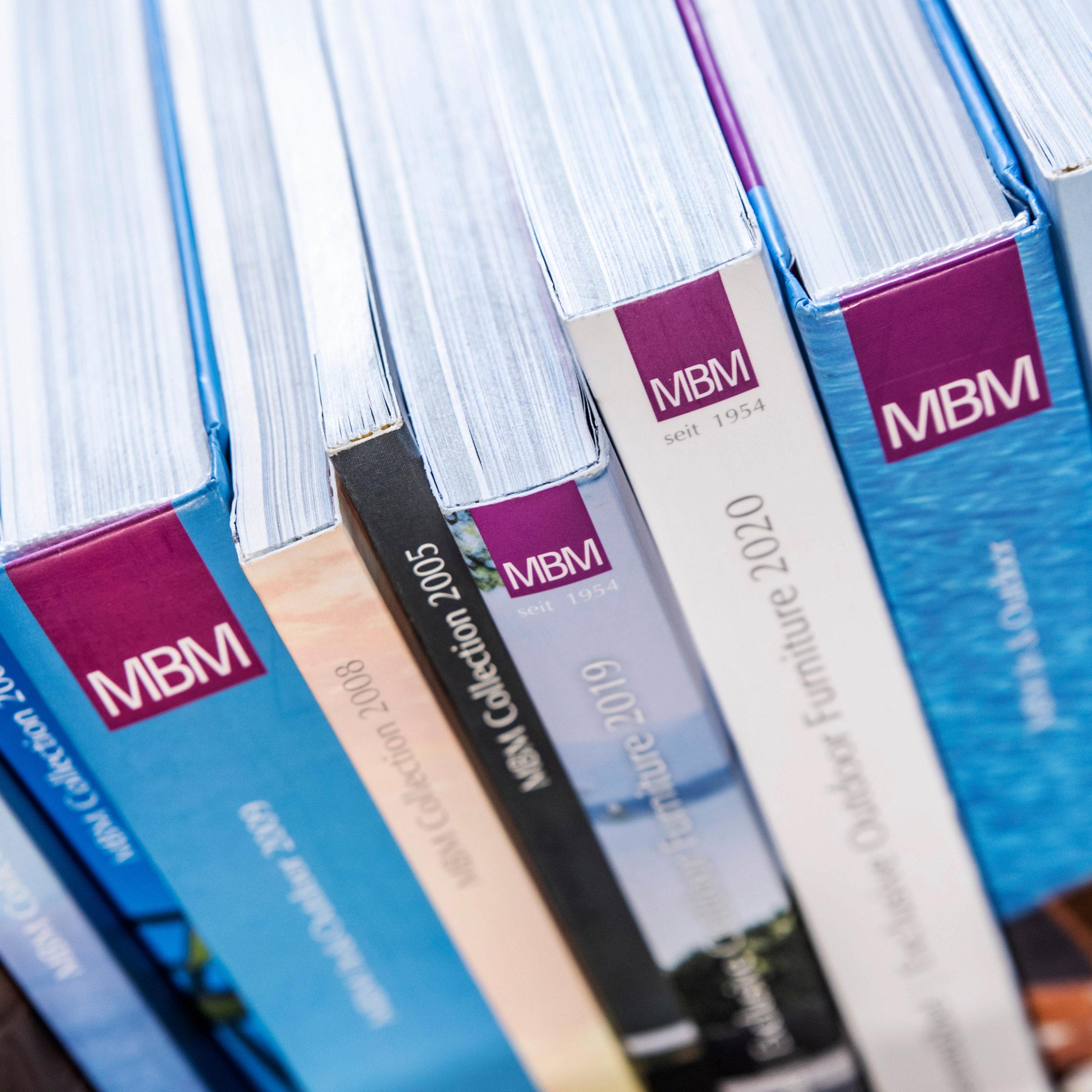 Design von Katalogen für MBM