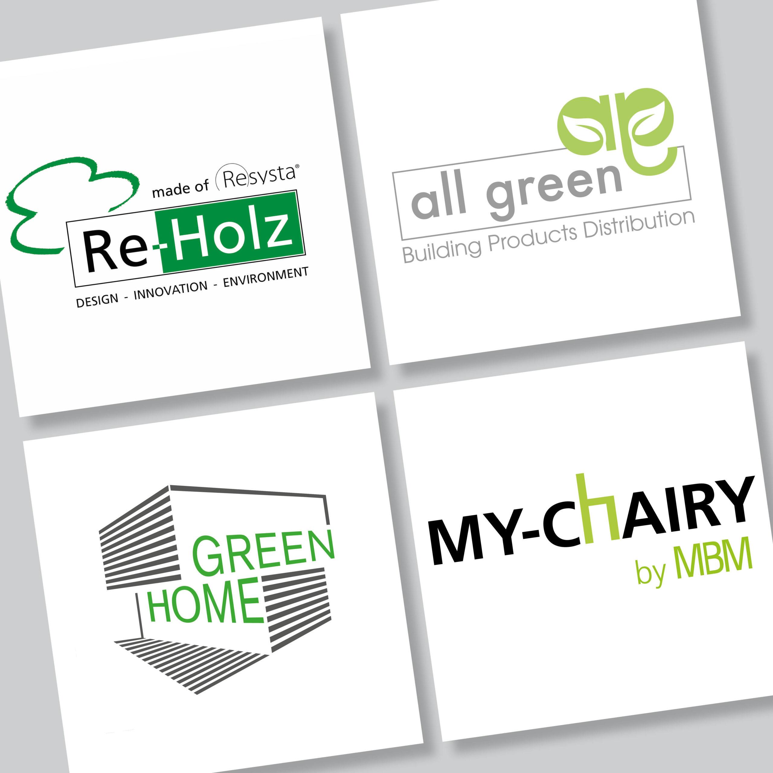 Design von Logos für nachhaltige Firmen durch das Atelier für Gestaltung