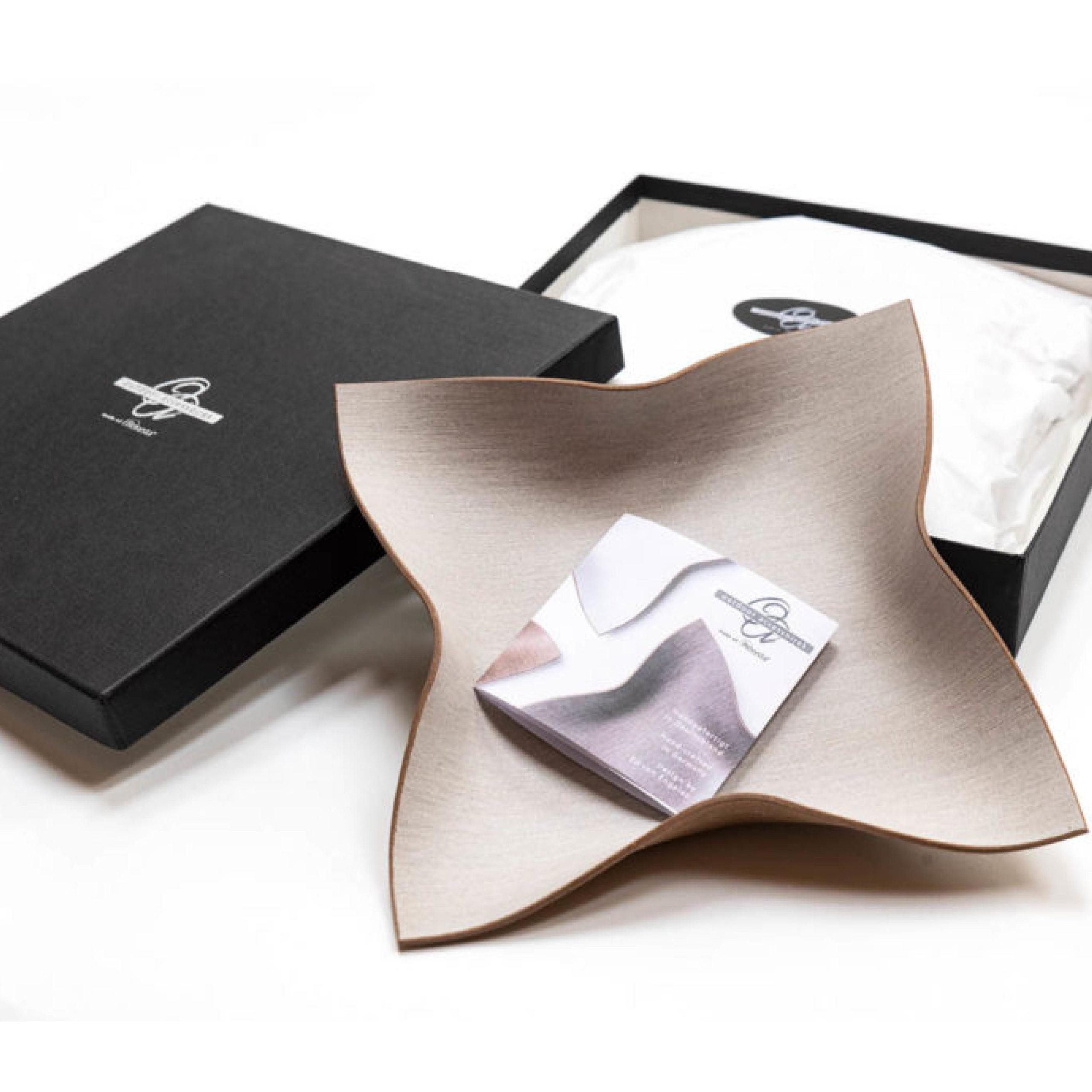 Design einer hochwertigen Schachtel